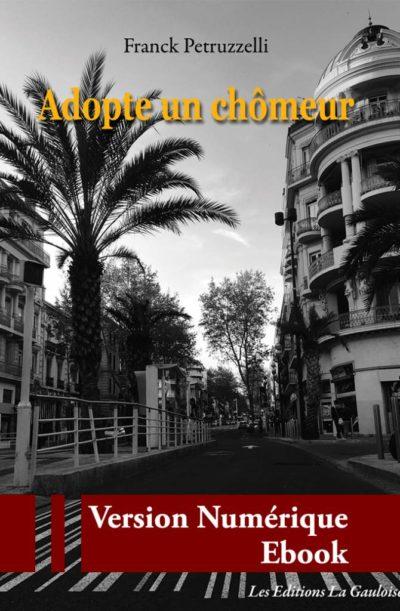 "Couverture ebook "" Adopte un chômeur "" de Franck Petruzzelli"