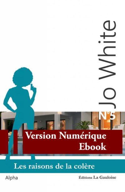 """Couverture ebook """" Jo White 5 """" de Alpha"""