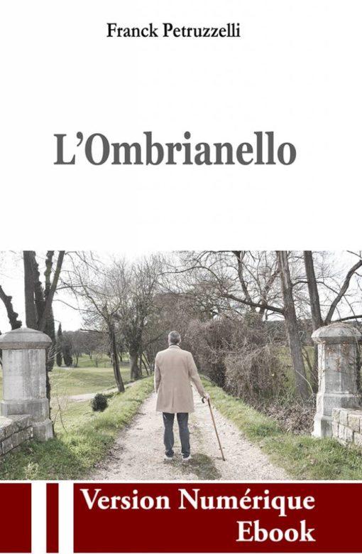 "Couverture ebook "" L'Ombrianello "" de Franck Petruzzelli"