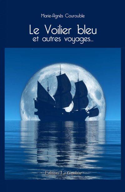 """Couverture """" Le Voilier bleu """" de Marie-Agnès Courouble"""