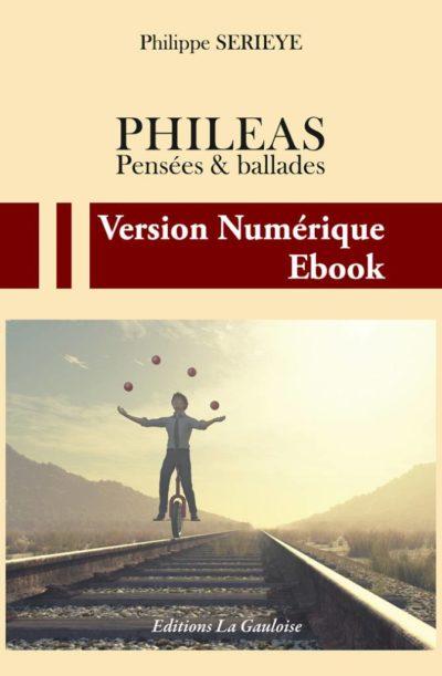 """Couverture ebook """" Phileas """" de Philippe Serieye"""