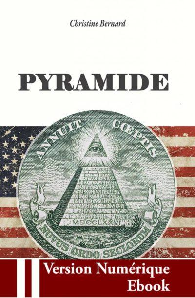 """Couverture ebook """" Pyramide """" de Christine Bernard"""