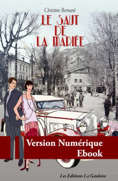 """Couverture """" Le Saut de la mariée """" de Christine Bernard"""