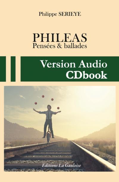 "Couverture CDbook "" Phileas "" de Philippe Serieye"