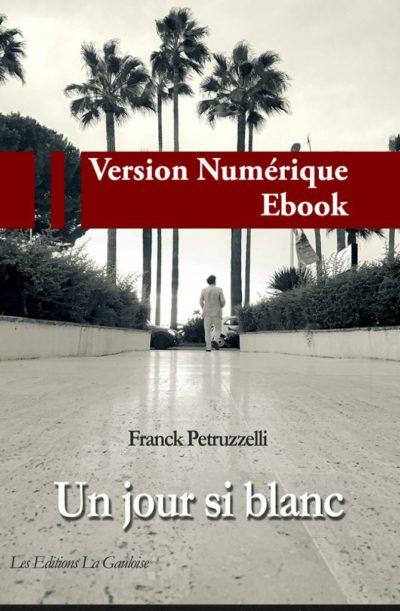 """Couverture ebook """" Un jour si blanc """" de Franck Petruzzelli"""